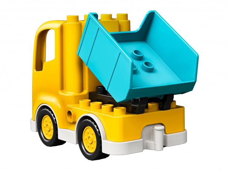 LEGO DUPLO 10931 Грузовик и гусеничный экскаватор, конструктор ЛЕГО - фото 7