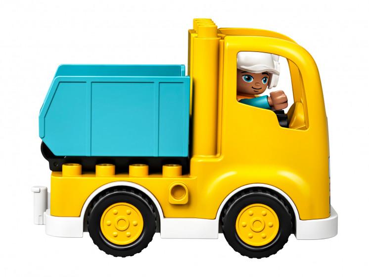 LEGO DUPLO 10931 Грузовик и гусеничный экскаватор, конструктор ЛЕГО - фото 8
