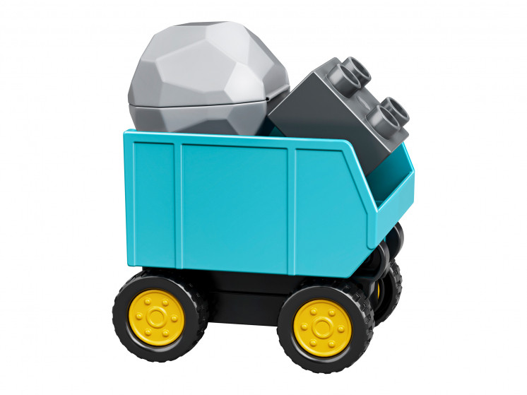 LEGO DUPLO 10931 Грузовик и гусеничный экскаватор, конструктор ЛЕГО - фото 9