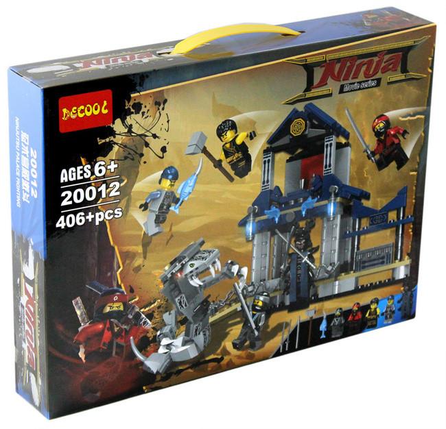"""Decool Ninja 20012 Конструктор """"Боевой дворец ниндзя"""" (Аналог LEGO)"""