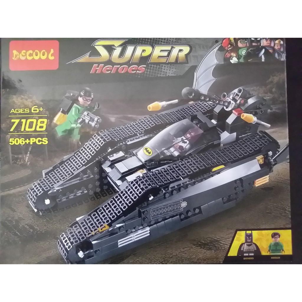 "Decool Super Heroes 7108 Конструктор ""Бэтотанк"" (Аналог LEGO)"