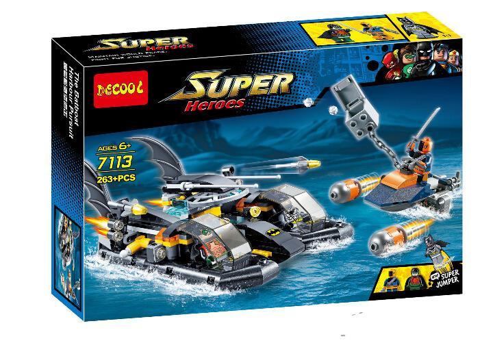 """Decool Super Heroes 7113 Конструктор """"Бэтмен против Мстителей"""" (Аналог LEGO) - фото 1"""