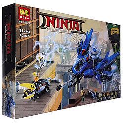 """Bela Ninja 10721 Конструктор """"Самолет-молния Джея"""" (Аналог LEGO 70614)"""
