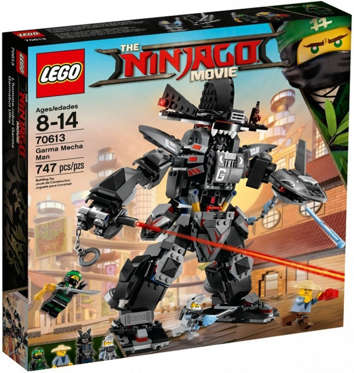 """Bela Ninja 10719 Конструктор """"Робот-великан Гармадона"""" (Аналог LEGO 70613)"""