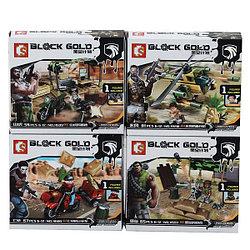 """Block Gold 11597 Военный Конструктор """"Командос"""", в ассортименте (Аналог LEGO)"""