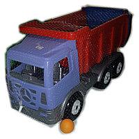 Инерционные машины, грузовые машины, камаз, пластмассовые., фото 1