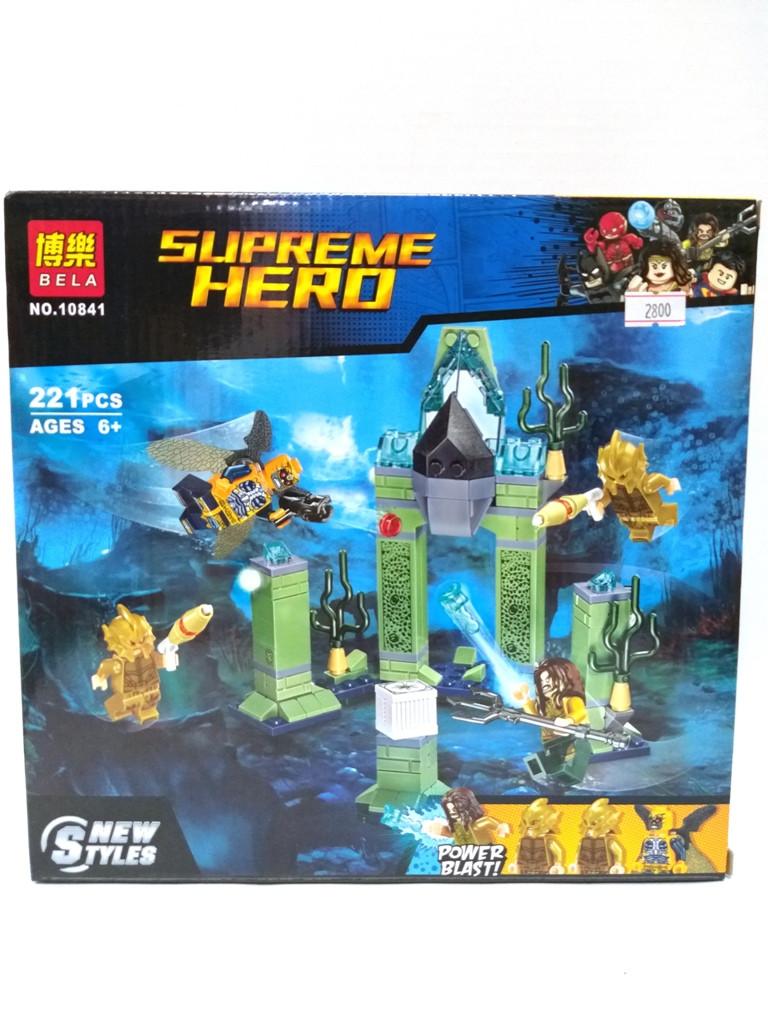 """Bela Supreme Hero 10841 Конструктор """"Битва за Атлантиду"""" (Аналог LEGO 76085)"""