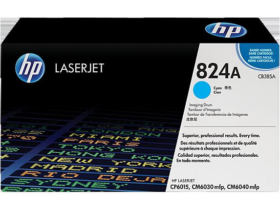 HP CB385A Барабан передачи изображений HP 824A Голубой, ресурс 23000 стр