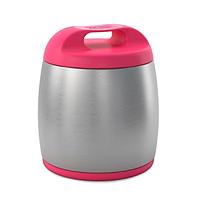Термоконтейнер (термос) для детского питания, розовый  (Chicco, Италия)