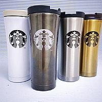 Термокружка Starbucks 500мл, серая., фото 1