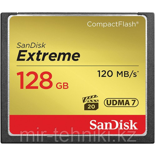 SanDisk Extreme CompactFlas 128 GB 120mb\s