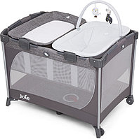 Детский Манеж Joie Playard Commuter Change and Snooze Linen Gray, фото 1