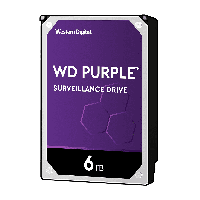 Жесткий диск HDD 6Tb Western Digital Purple WD60PURZ