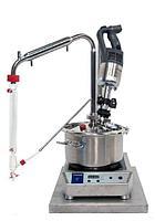 Турбодистиллятор для дистилляции в потоке пара емкостью 12 л