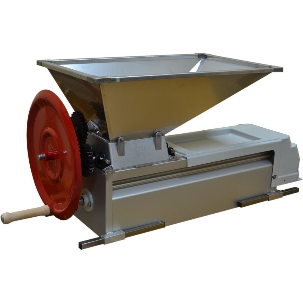 Дробилка механическая для винограда с гребнеотделителем MOLINARA  из нержавейки, Италия