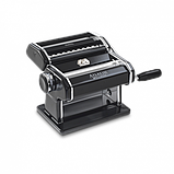 Оптом Marcato Design Atlas 150 Color Nero ручная тестораскаточная машина - лапшерезка с насадкой для лапши, фото 2