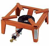 Горелка - плита газовая настольная OMAC 150 Mammuth, чугунная, фото 2