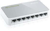 Коммутатор TP-Link TL-SF1008D 8-портовый 10/100 Мбит/с мини настольный коммутатор, 8 портов RJ45 10/