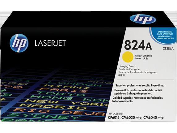 HP CB386A Барабан передачи изображений HP 824A Желтый, ресурс 23000 стр.