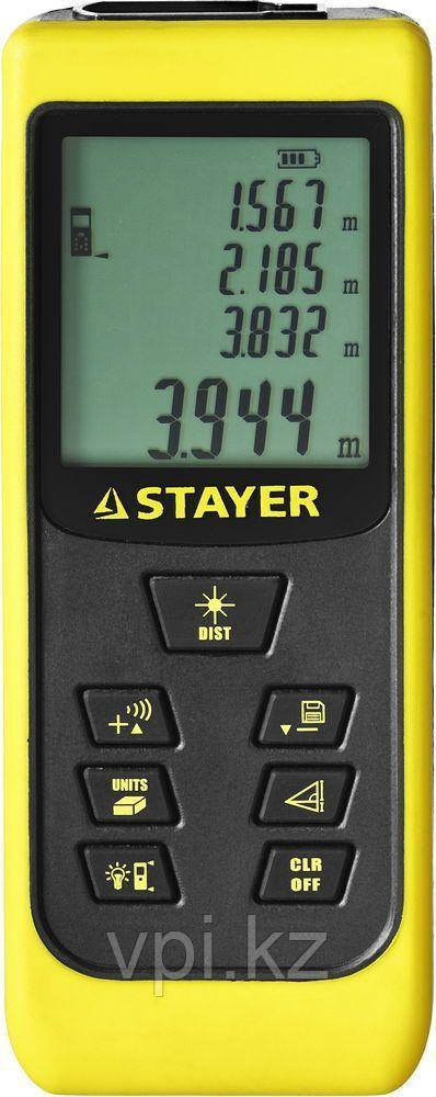 Дальномер лазерный, 50м., LDM-60 Stayer