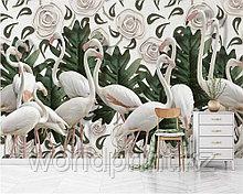 """Фотообои печать """"Фламинго"""""""