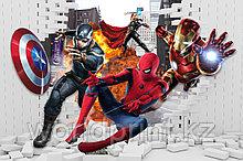 "Фотообои 3Д ""Человек паук"""