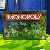 "Монополия ""Рик и Морти"", Английская версия"