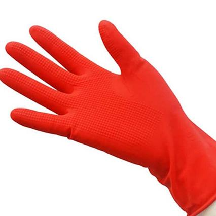 Перчатки латексные (красные) -  L, XL
