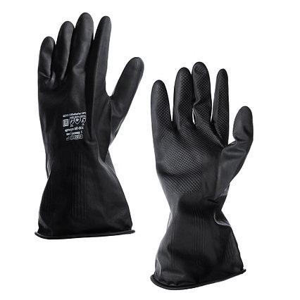 Перчатки латексные (чёрные) -  L, XL