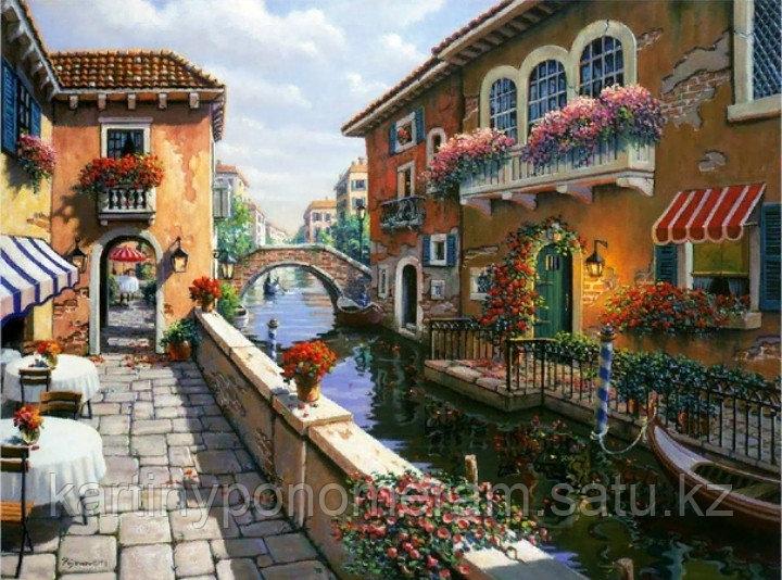 "Картина по номерам ""Уголок Венеции"""