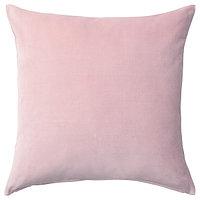 Чехол на подушку САНЕЛА светло-розовый 50х50 см. ИКЕА, IKEA, фото 1
