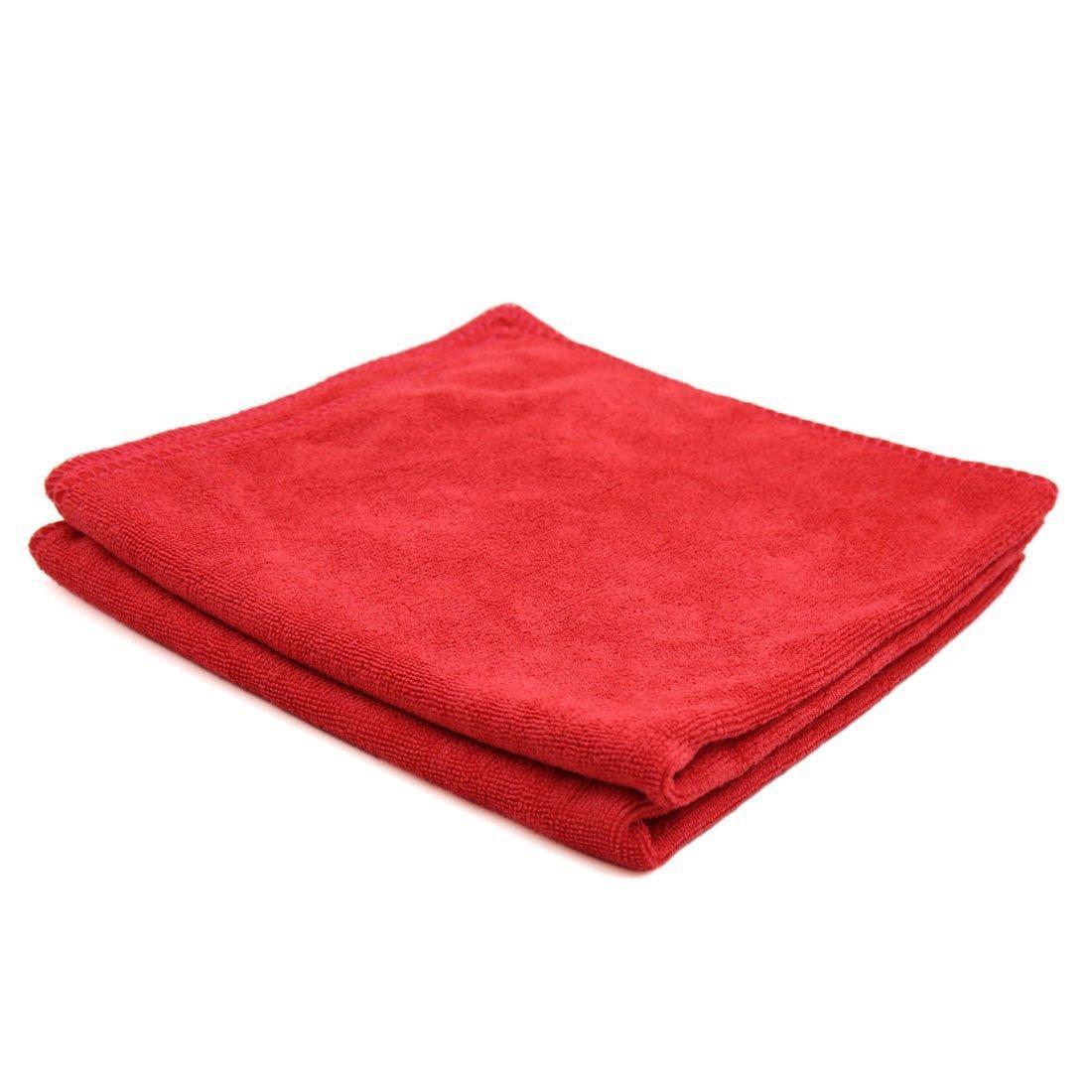 MICROFIBRE ворсовая (красная) - 100*100см