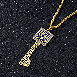 """Кулон на цепочке """"Мусульманский ключ"""", фото 9"""