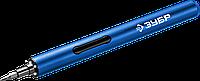 ЗУБР Профессионал  ОТР-3 Н20  отвертка аккумуляторная 3 V  для точных работ с набором 20 бит, фото 1