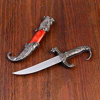 Сувенирный нож, 23 см рукоять в форме дракона