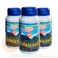 Трифала таблетки Shri Ganga «Trifala Tab»