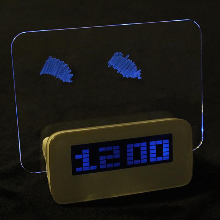 """Часы-будильник LuazON LB-16 """"Послание"""", с маркером - фото 3"""