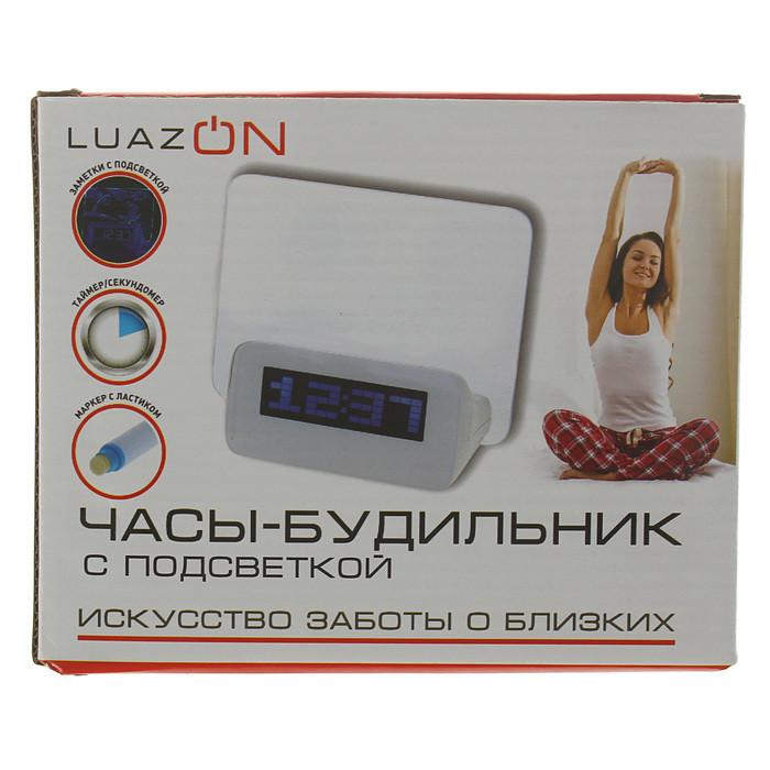 """Часы-будильник LuazON LB-16 """"Послание"""", с маркером - фото 6"""