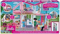 """Barbie Кукольный домик Барби """"Дом Малибу"""", 6 комнат, 25 аксессуаров"""