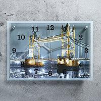 """Часы настенные, серия: Город, """"Тауэрский Мост"""", 25х35  см, микс, фото 1"""