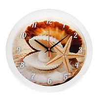 "Часы настенные круглые ""Жемчужина"", 28х28 см"
