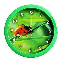 "Часы настенные круглые ""Природа"", 28х28 см"