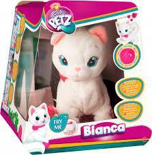 """Интерактивная игрушка Club Pets - Кошка """"Бьянка"""" с клубком"""