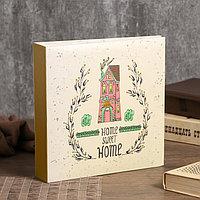 """Фотоальбом на 200 фото 10х15 см """"Нарисованный дом"""" бумажные листы 22,5х22х5 см, фото 1"""