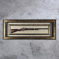 Ружье в раме, 5х124х49 см, фото 1