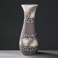 """Ваза напольная """"Осень"""", абстракции, цвет коричневый, 58.5 см"""