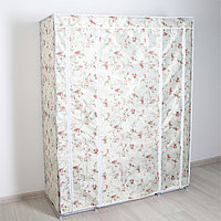 """Шкаф для одежды 130×45×175 см """"Розы"""", цвет белый"""