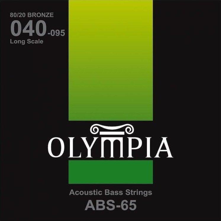Струны для акустической бас-гитары Olympia ABS-65 40-95