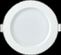 Светильник LED ДВО 1702 белый круг 12Вт 3000K IP40 IEK
