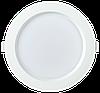 Светильник LED ДВО 1703 белый круг 18Вт 6500K IP40 IEK